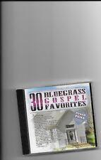 "30 BLUEGRASS GOSPEL FAVORITES, CD ""TRADITIONAL BLUEGRASS"" NEW SEALED"