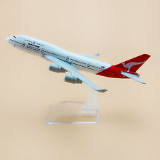 16cm Airplane Model Plane Air Qantas Airlines Boeing 747 B747 400 Aircraft Model