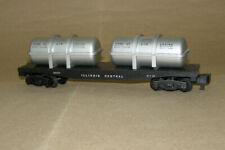 Gilbert American Flyer, 24577 Illinois Central Jet Engine Flat Car, Used, Boxed