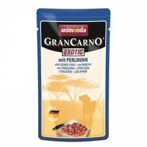 Animonda Frischebeutel PB GranCarno Exotic mit Perlhuhn 16 x 125g (13,95€/kg)