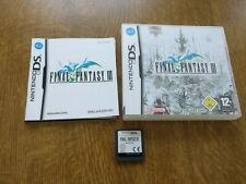 Square Enix Final Fantasy III (Nintendo DS, 2007)