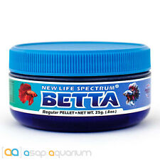 New Life Spectrum BETTA Regular Pellet 25g Fish Food Fast Free USA Shipping