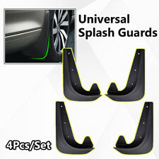 4pcs Universal Car Mud Flaps Splash Guards Mudflaps Mudgurads Fender Front Rear