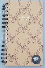 NEW - STAG ADDRESS BOOK - PERFECT GIFT