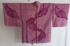 Kimono JAPAN, Shibori, Haor,i Seide, Silk, Nippon, Vintage Morgenmantel