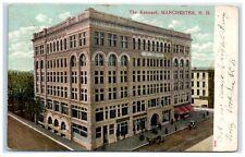 1907 The Kennard, Manchester, Nh Postcard