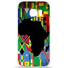 Coque Housse Etui Samsung Galaxy S7 Edge Silicone qualité FR - Drapeau Afrique