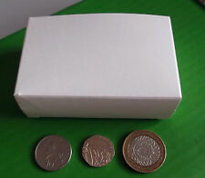 Box Small White Packing Gift Packaging Craft Boxes x 10pcs Size 97x33x60mm ONO