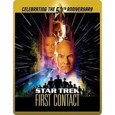 Star Trek 8 - First Contact Limited Edition 50th Anniversary Steelbook Blu-ray