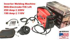 Shimaha 3-IN-1 IGBT 250Amp  MIG-TIG-STICK WELDING MACHINE