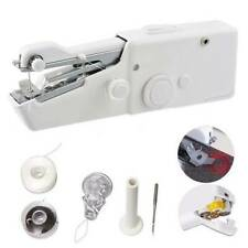Home Travel Cordless Stitch DIY Hand Held Sewing Machine Accs Mini Portable  Y