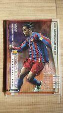 2005-06 Panini WCCF WMVP Ronaldinho FC Barcelona rare card