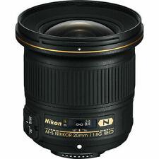 Nikon NIKKOR AF-S 20mm f/1.8G ED Lens