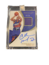 2018-19 Panini Immaculate Collection Charles Barkley HOF Patch AUTO 9/25