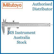 "New Genuine Mitutoyo 530-312 Standard Vernier Caliper 150mm 6"" Australia Stock"