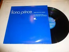 "FIONA PRINCE - High On You Again - 2000 UK 2-track 12"" Vinyl single - PROMO"