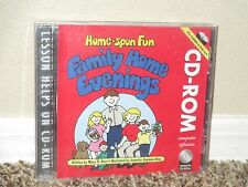 Home Spun Fun Family Home Evening By Mary H Ross Lds Mormon F.H.E. Cd-Rom