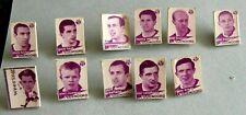 11 speldjes Feijenoord spelers, pins jaren 60