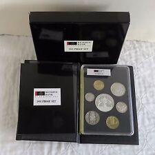 Nueva Zelanda 1991 7 monedas prueba año Set Con Plata Rugby $5-completa