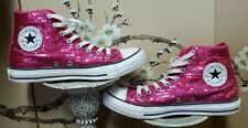 Pink Sequin Converse All Stars Chucks Chuck Taylor women's Size 9/Men's size 7