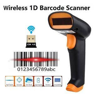 Netum Wireless 1D Barcode Scanner Cordless 1D Bar Code Reader For XP/7/8/10 MAC