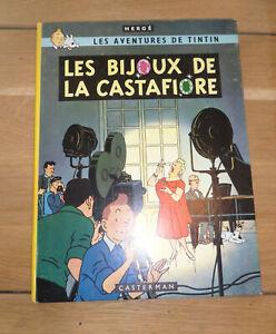 TINTIN LES BIJOUX DE LA CASTAFIORE   B35 - 1964