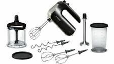 Bosch MFQ 4885 Hand Mixer Black / Chrome 575W Stainless Steel Blades Genuine New
