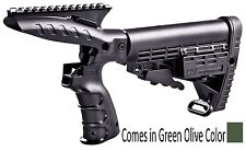 CMGPT500-S CAA Tactical OD Green Stock System With Grip, Picatinny Rail & Stock