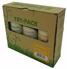 Biobizz Try·Pack Indoor Pack de Engrais Biologiques 3x250ml