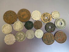 Eastern Coin Collection Lebanon/China/Palestine/Japan Worth A Closer Look