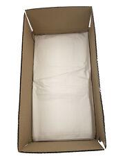 "100 White Refuse Sacks Bin Bags 160G Rubbish Scrap / Waste Large 18"" x 29"" x 39"""