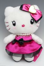 Hello Kitty Usj hot pink & black 2016 plush Birthday edition Sanrio Japan
