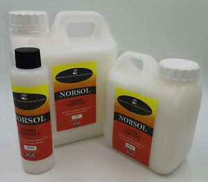 Norsol Leather Top Coat Patent, Gloss, Satin, Matt. Dye, Colourant, 100ml Sealer