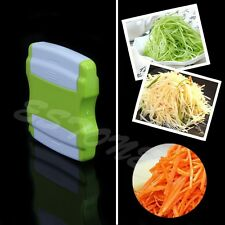 Vegetable Potato Carrot Cucumber Fruit Twister Cutter Slicer Peeler Kitchen