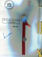 Original Genuine Piece of Berlin Wall dated 1989 with Certificate Authenticity