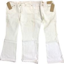 G-Star Raw Low Hip Damen Jeans Hose mit Schlag Weiß Gr. W34 L32 NEU
