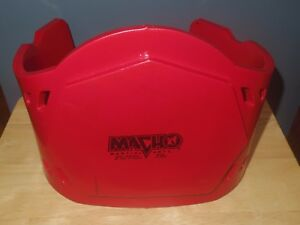 """Macho Martial Arts Chest Protector - Youth Unisex - 9 5/8"""" Tall - Red - Used/VGC"""
