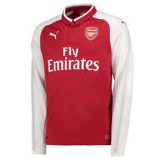 Camisetas de fútbol de clubes ingleses 1ª equipación de manga larga para hombres