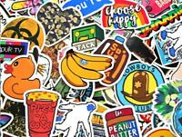 200 Sticker Lot Skateboard Stickers Bomb Vinyl Laptop Luggage Decals Dope Cool