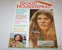 MAY 1975 GOOD HOUSEKEEPING magazine CAROLINE KENNEDY