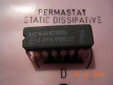 MC54HC595J 8-bit Shift Register CERDIL-16 Motorola
