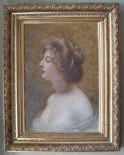Important Oil Portrait on Canvas by Famous Civil War Artist Frederick B. Schell