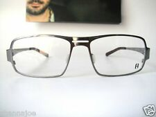 Freudenhaus Titanium Large 57-16 GUN Nixon 1 Eyeglass Specs Frames Mens Moderni