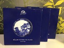 Set Of 6 Ringtons Willow Tea Plates.