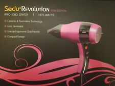 Sedu Revolution Pro Tourmaline Ionic 4000i Hair Dryer 1875 Watts (Pink)