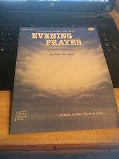 Vintage Sheet Music: Evening Prayer Piano Duet 1 piano/ 4 hands, E Humperdinck