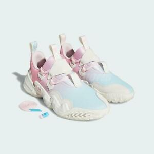 adidas Trae Young 1 ICEE Cotton Candy White Pink Men Basketball Shoes H68998