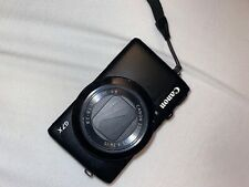 Canon PowerShot G7 X Digital Camera - Black (must fix cracked screen)