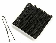 1pcs U-shaped Bun Hair Pin Clip Hair Grips Black Wavy Salon Hair Grips Pins