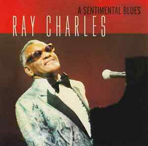 RAY CHARLES A Sentimental Blues - Best Of CD Album 1997 NEUWARE Blues/Jazz Hits!